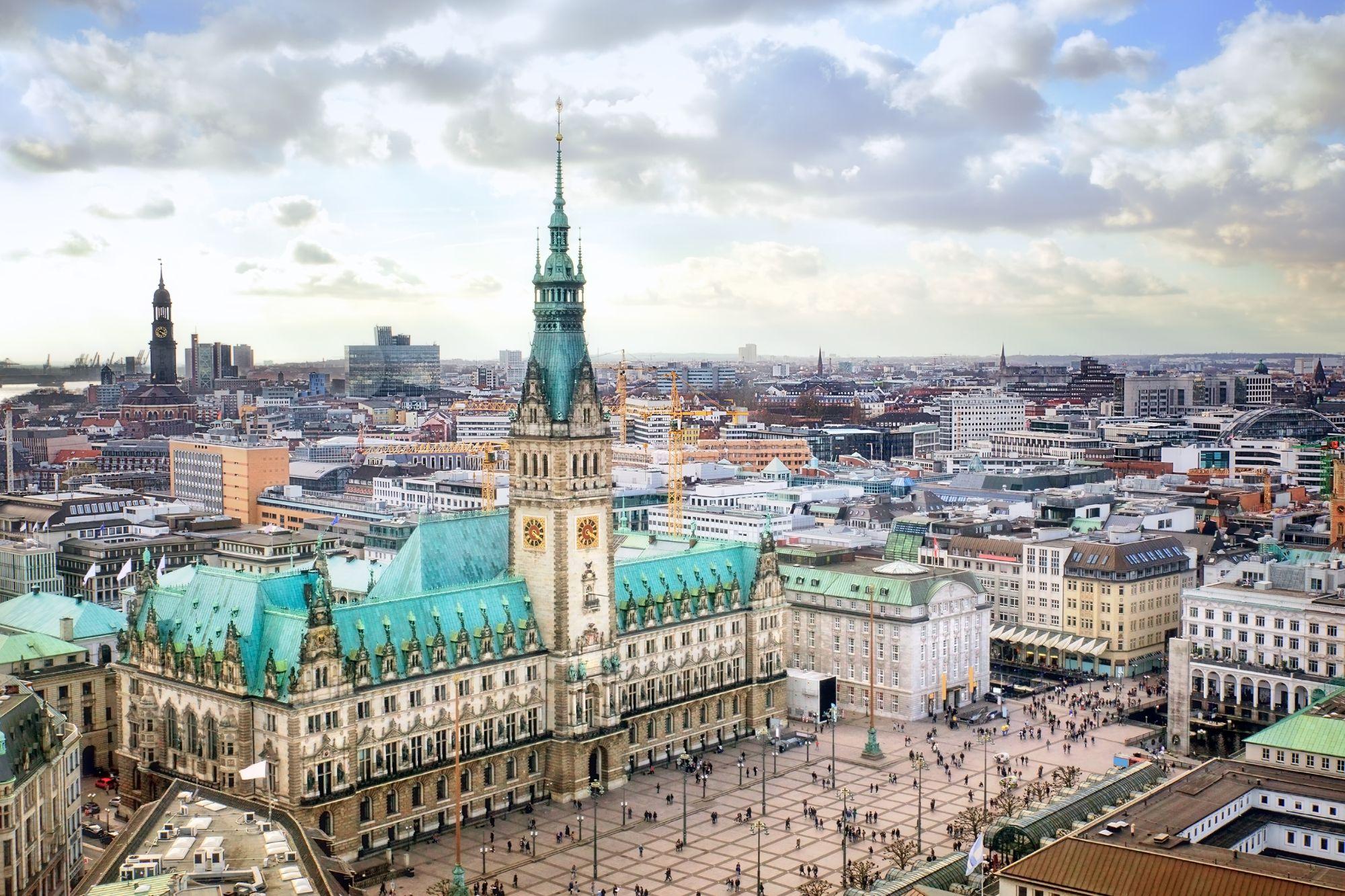 Panorama Hamburga