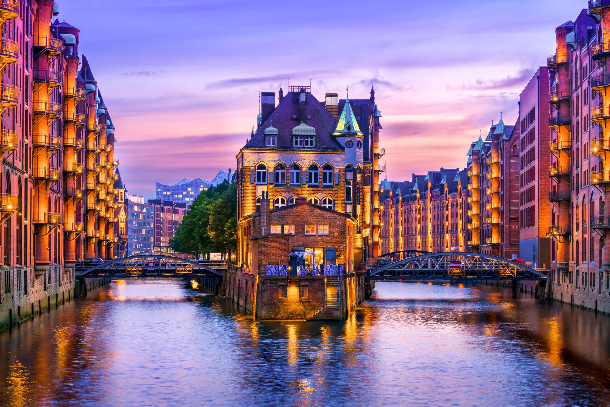 Kanały w Hamburgu