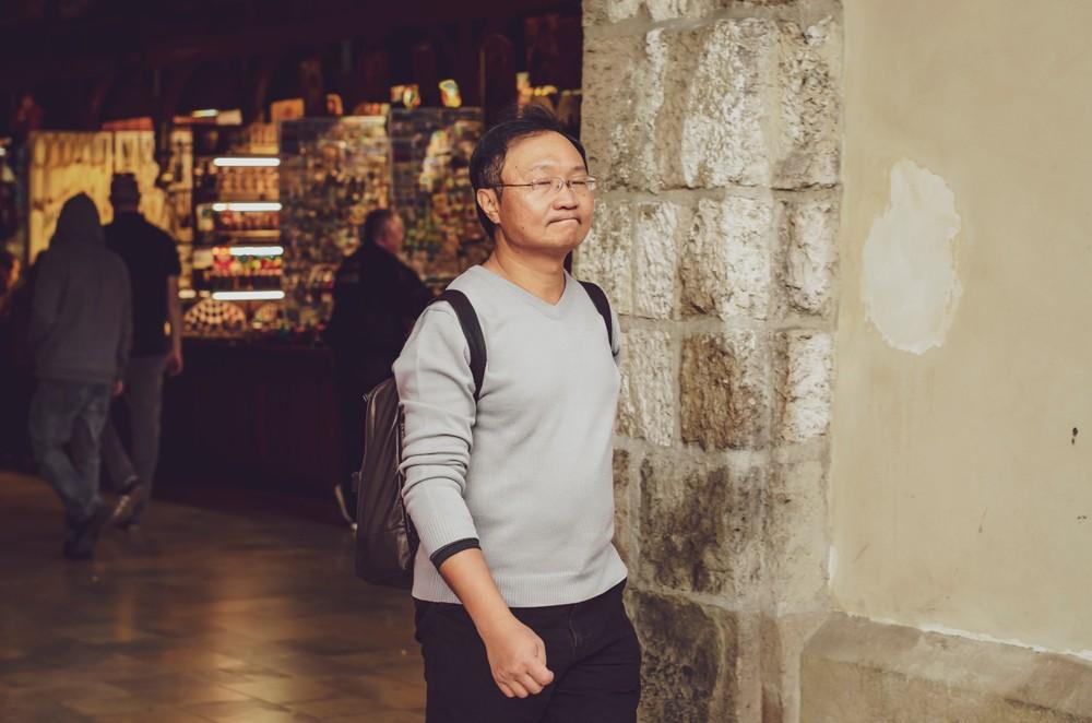 Turysta z Chin