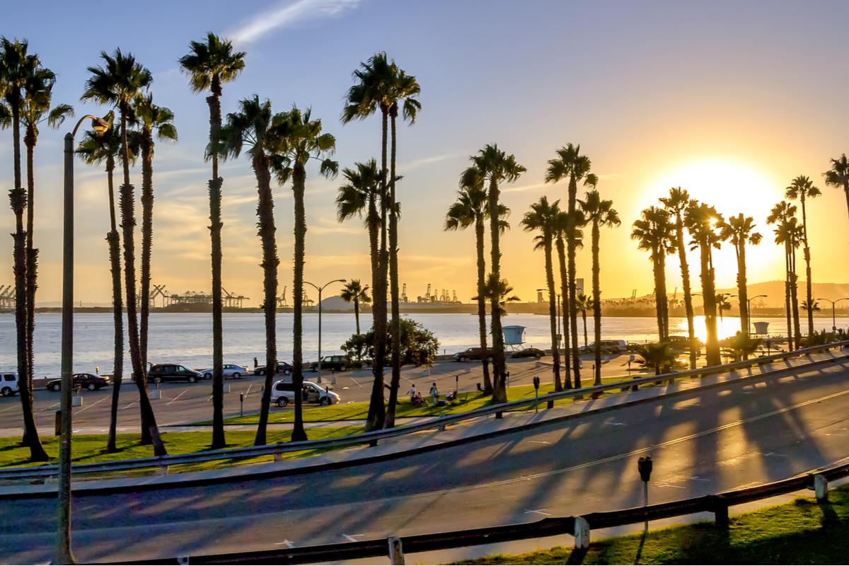 Kalifornia plaża