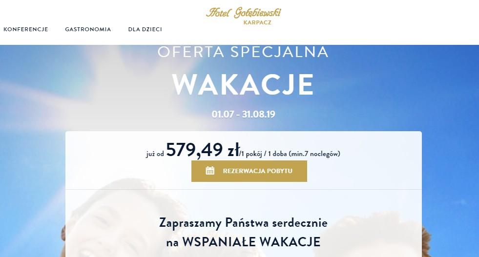 Gołębiewski Karpacz