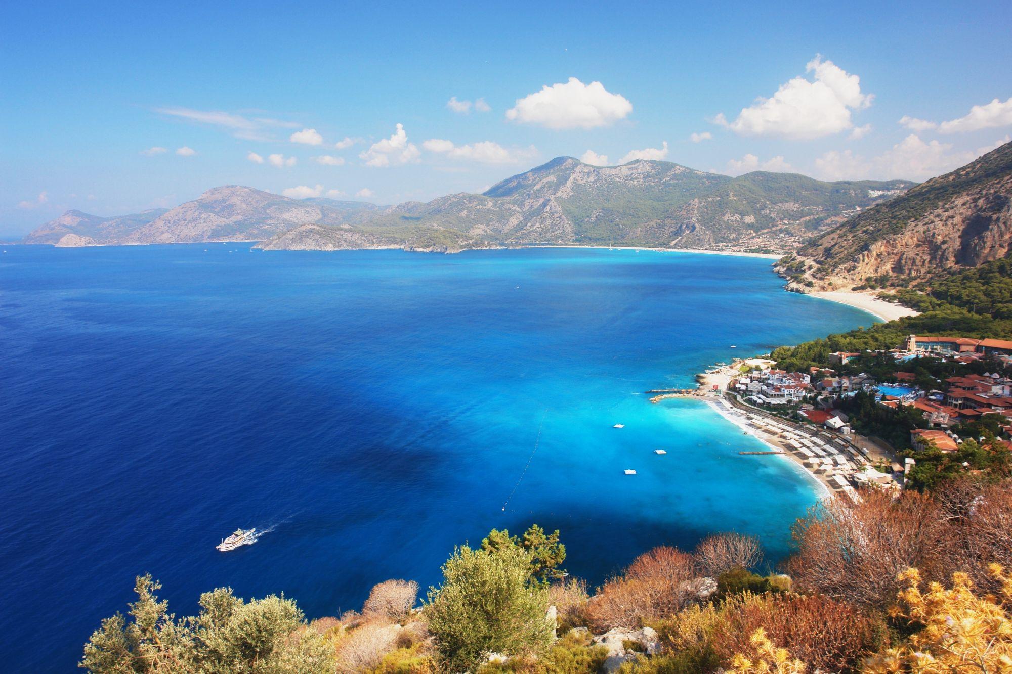 Wybrzeże w Turcji