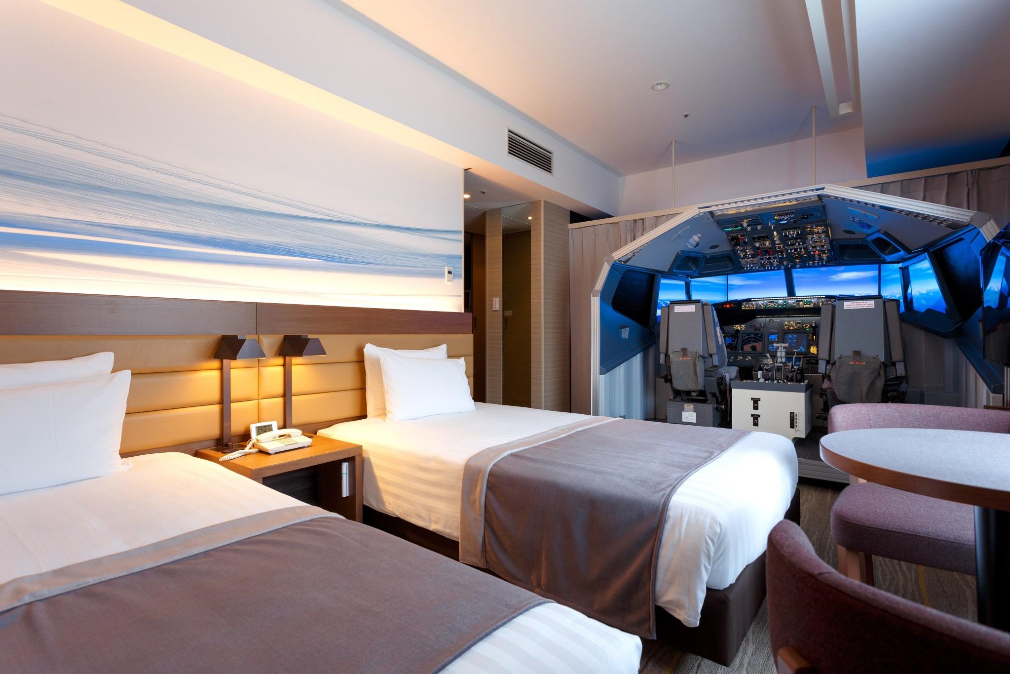 symulator lotu w hotelu