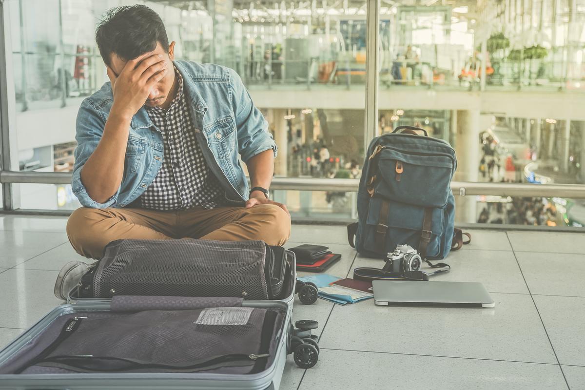 problem na lotnisku