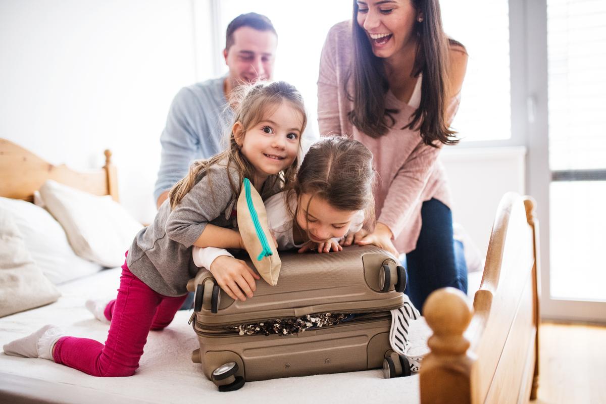 pakowanie rodzina