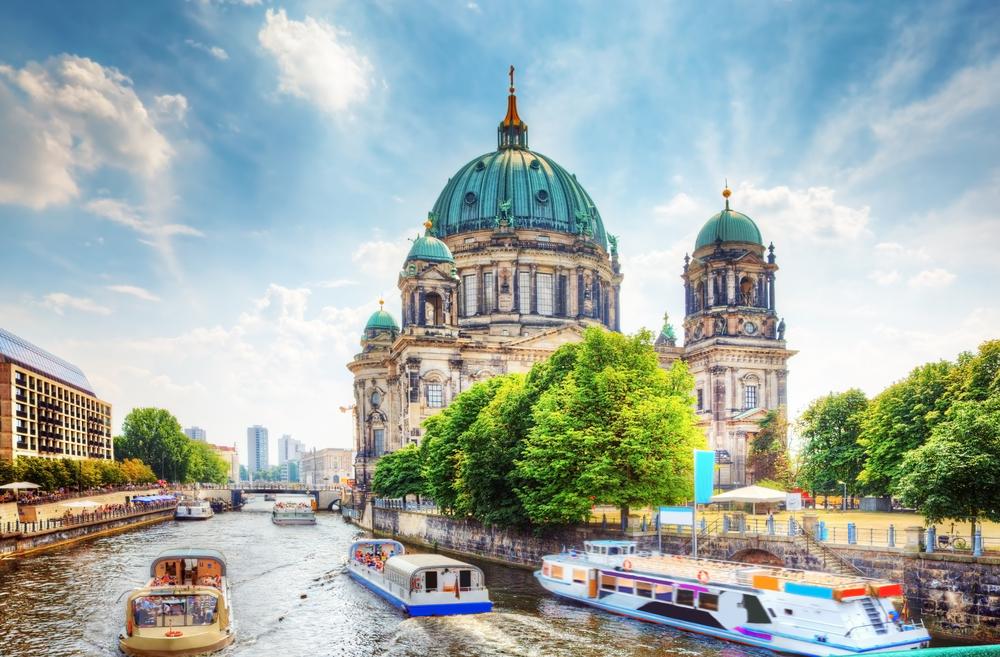 Łodzie w Berlinie