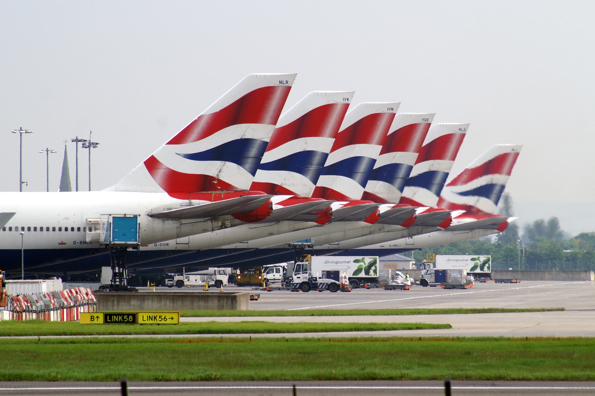 british airways samolot
