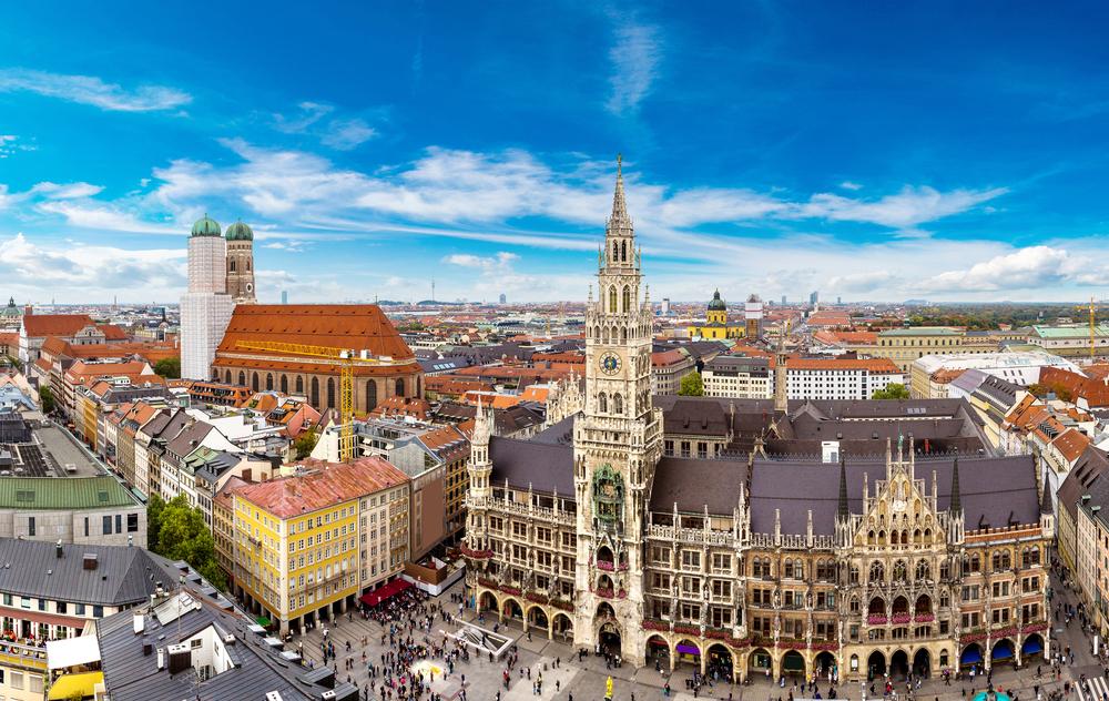 Panorama Monachium