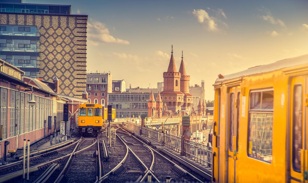 Pociąg w Berlinie