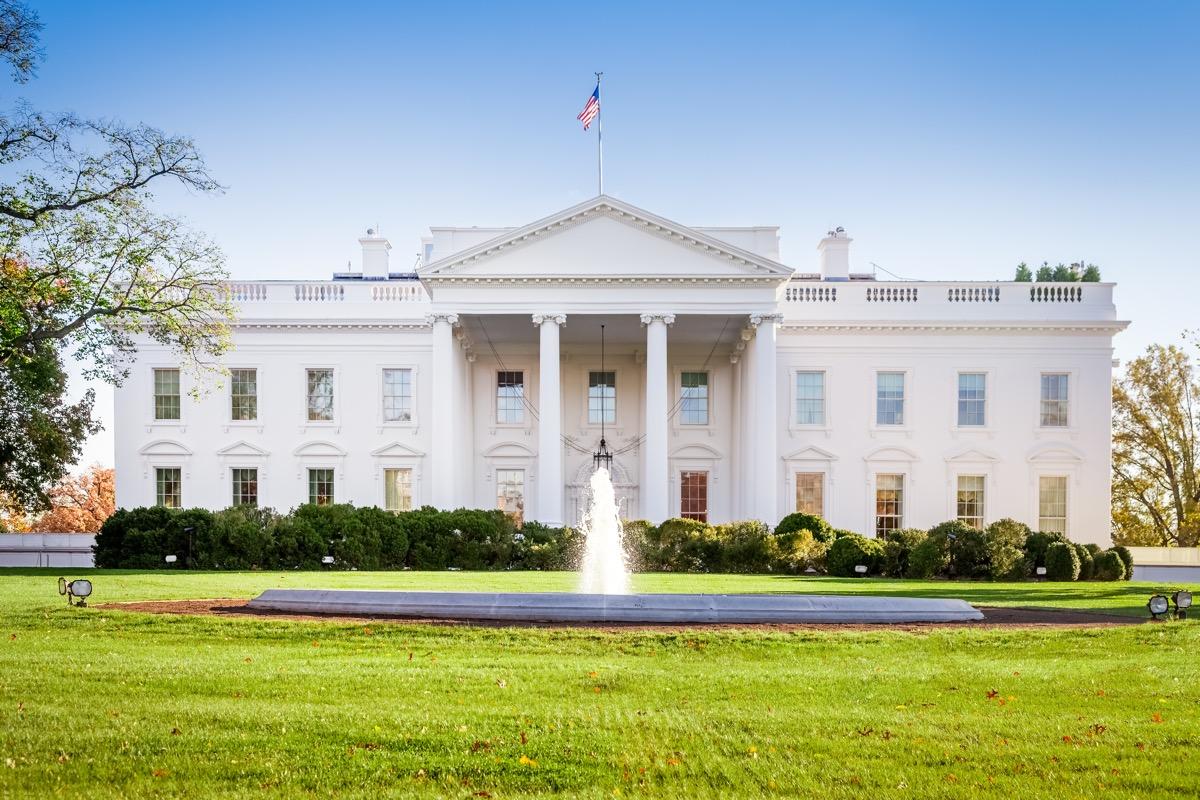 biały dom waszyngotn