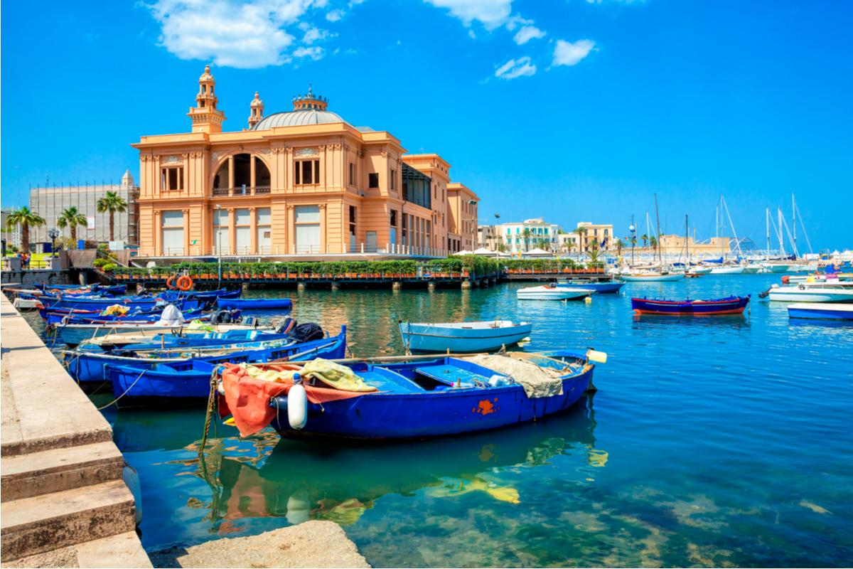Port w Bari