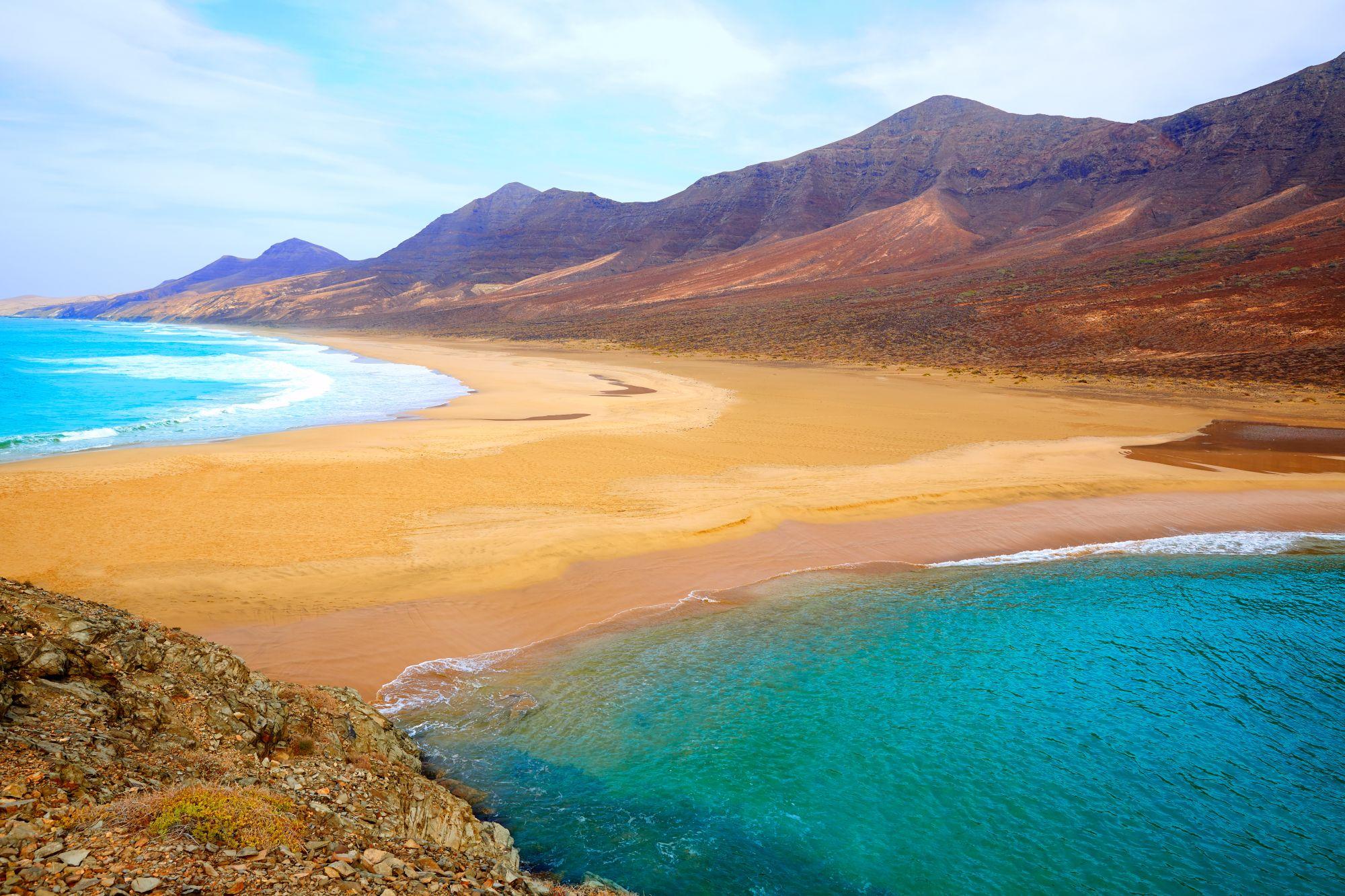 Plaża na Fuerteventurze