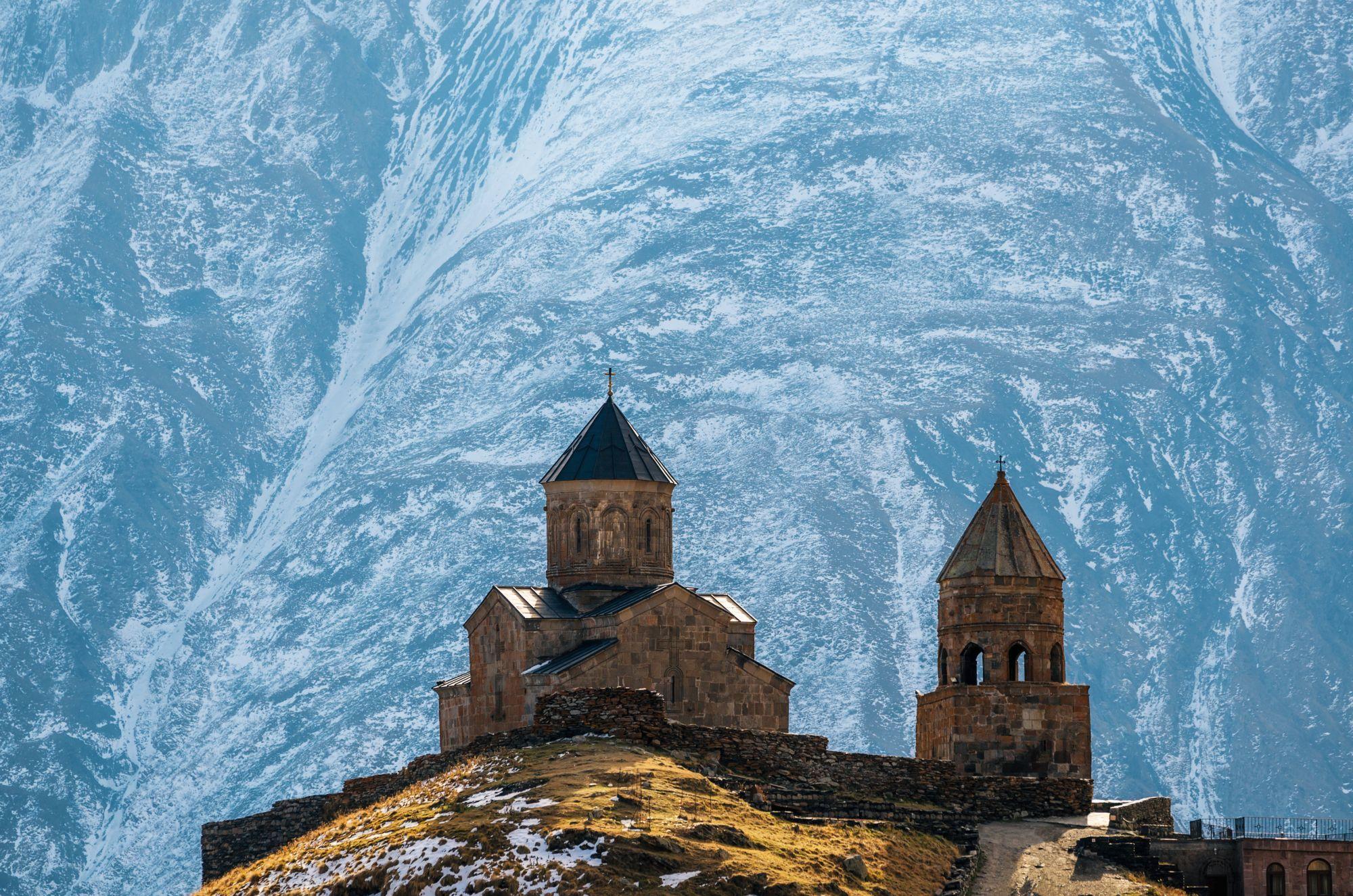 Gruzja zimą