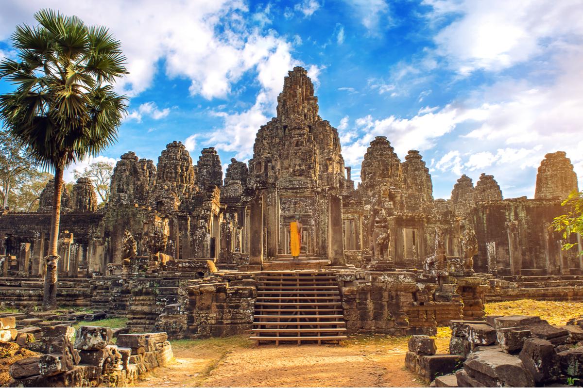 Kambodża świątynia