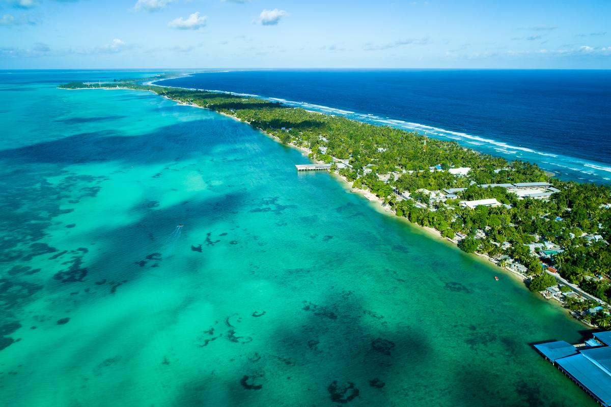 Kiribati panorama