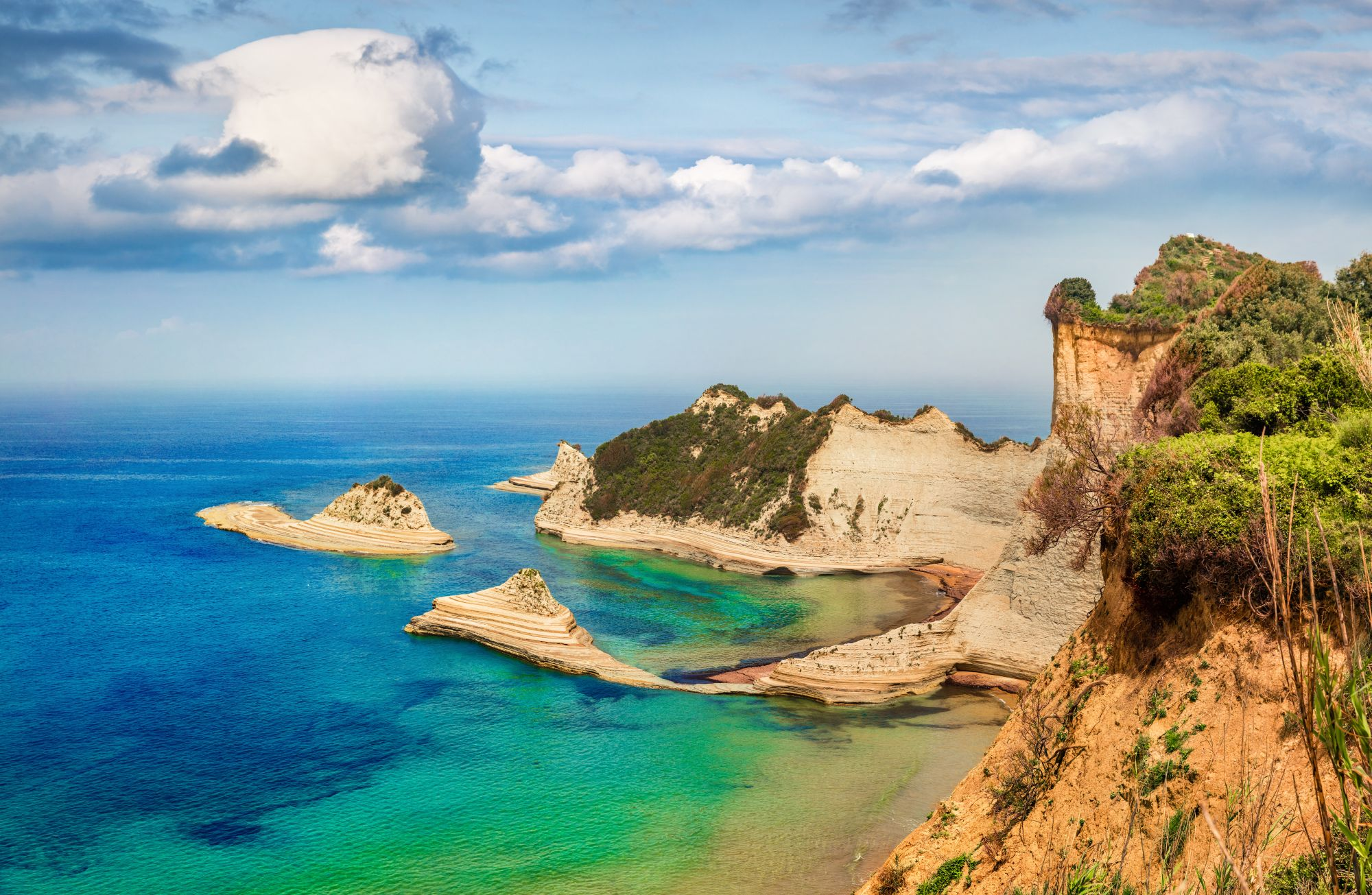 Wybrzeże Korfu