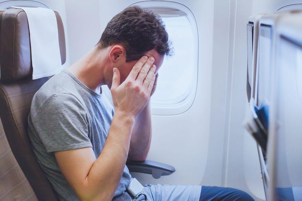Chory w samolocie