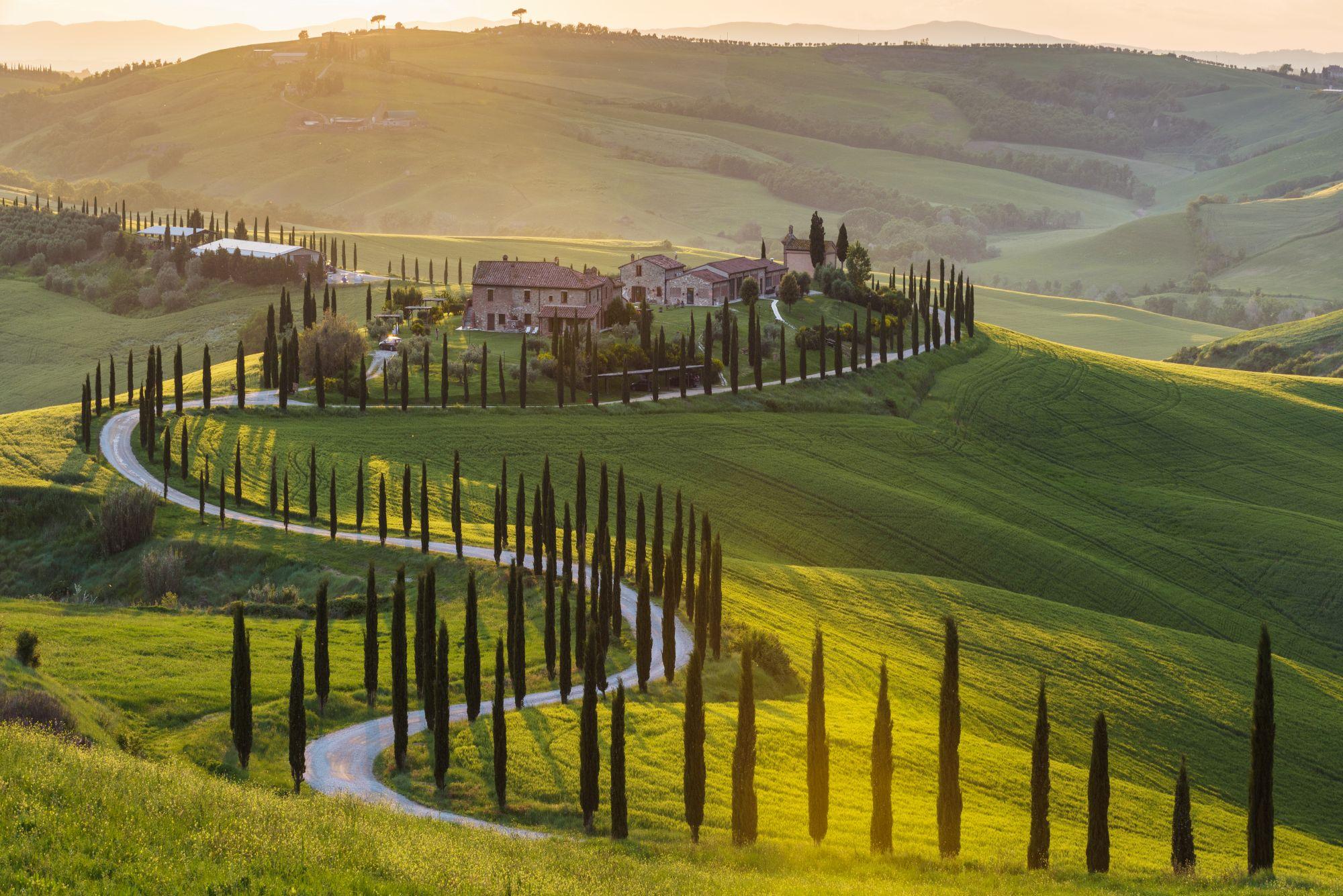 Panorama Toskanii
