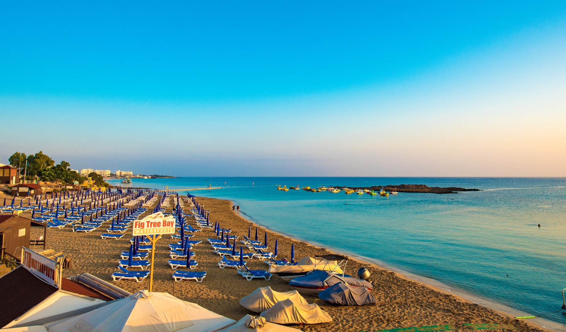 Cypr plaża