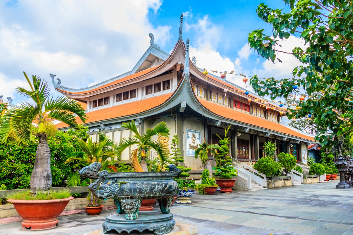 Wietnam pagoda