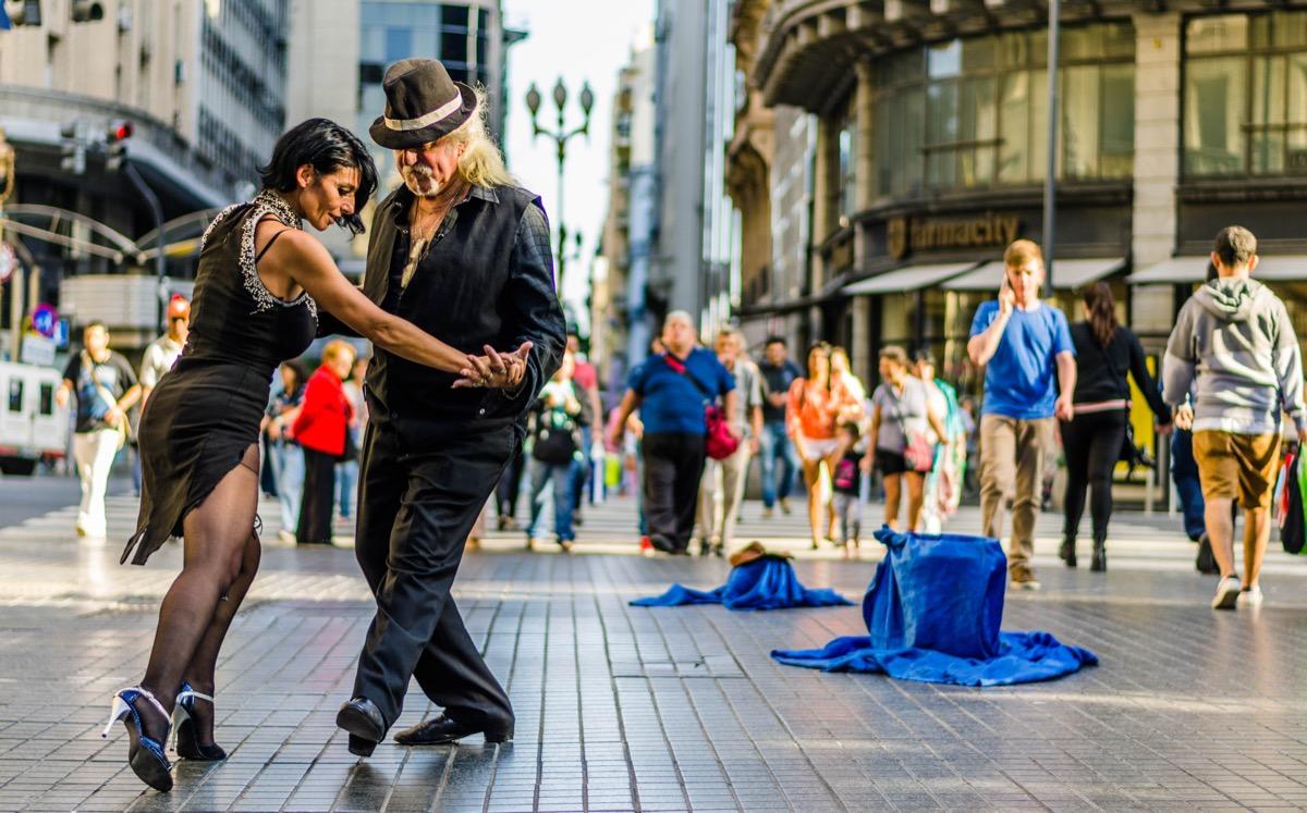tango w buenos aires