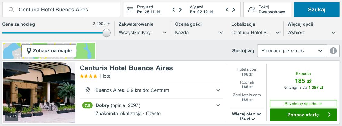 zarezerwuj hotel w argentynie