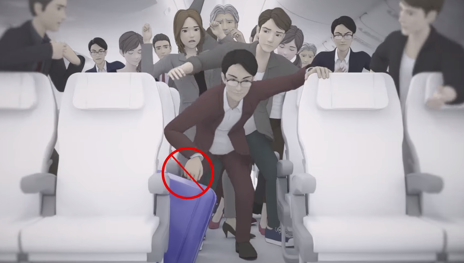 japan airlines safety wideo