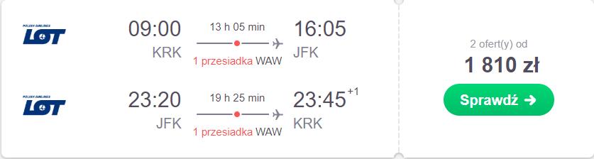 Kraków nowy jork