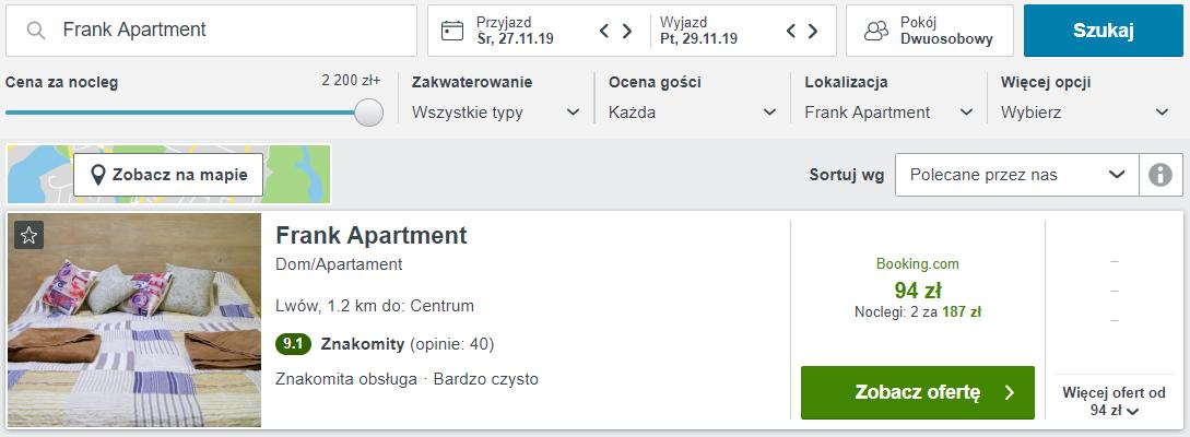 Lwów apartament