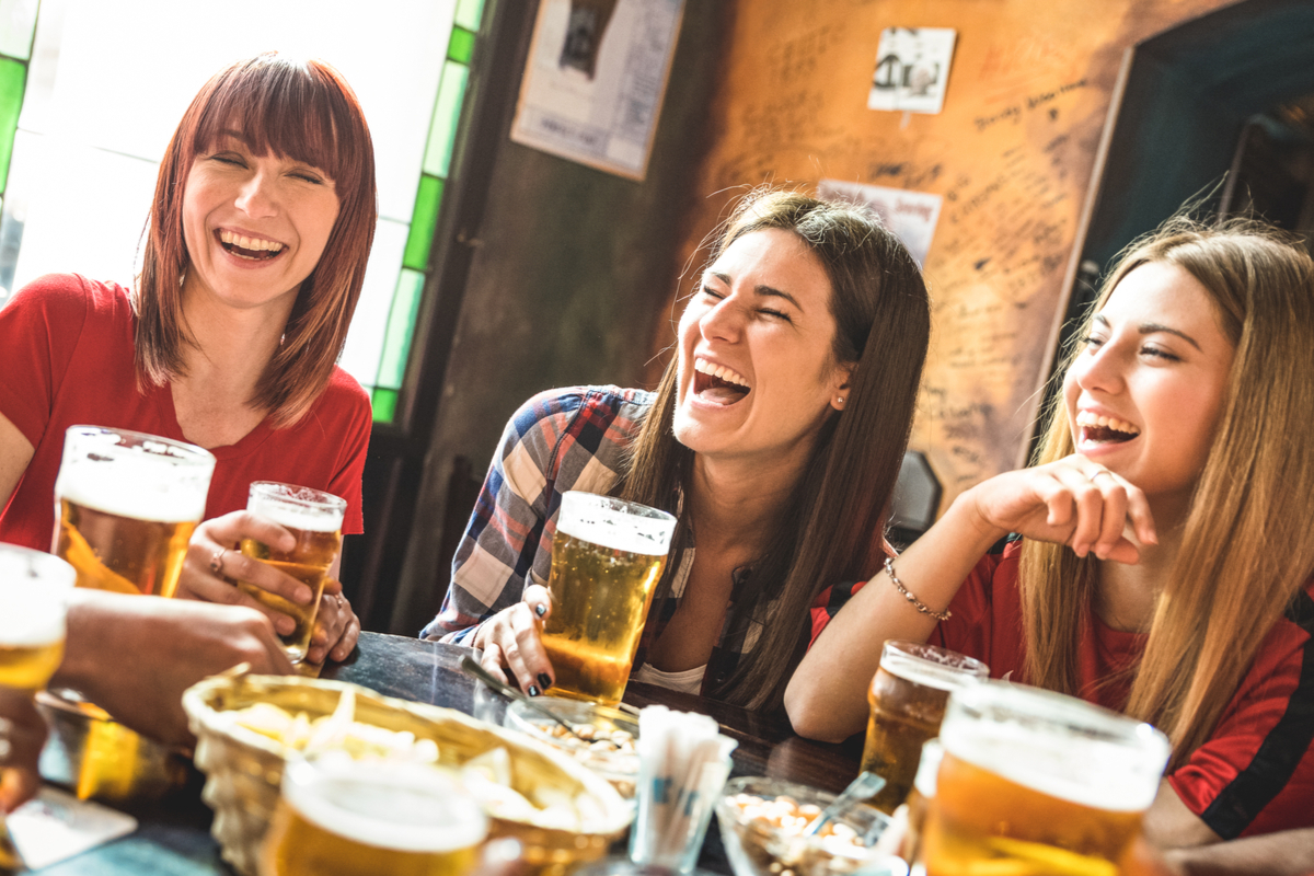 dziewczyny piwo