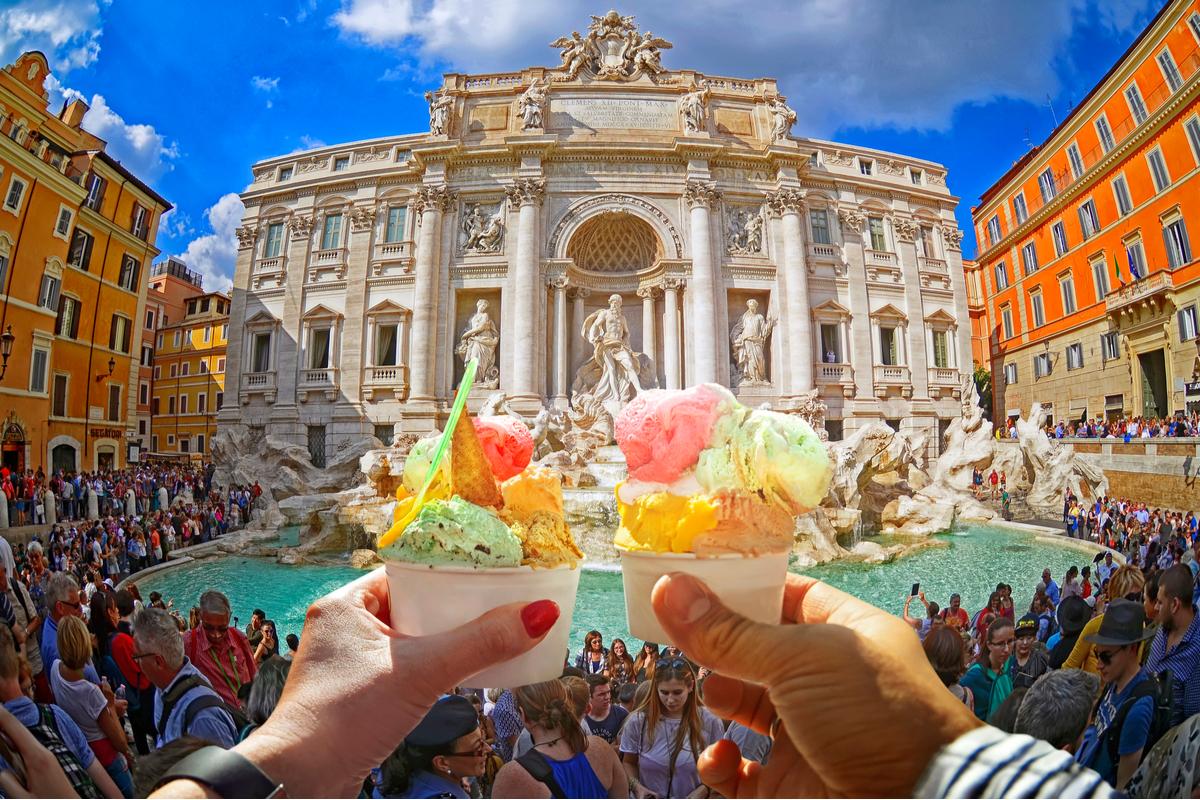 rzym lody