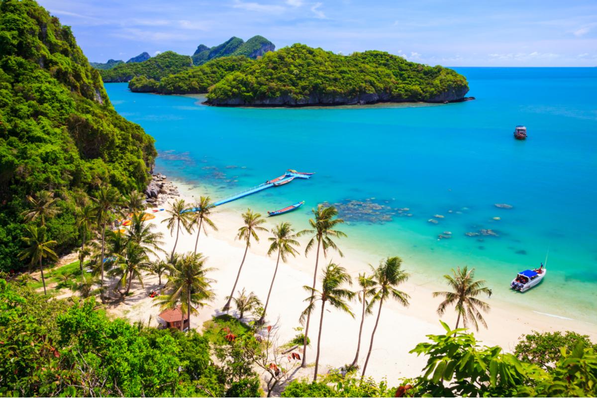 plaża na Ko Samui