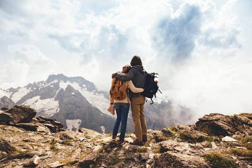 para w górach