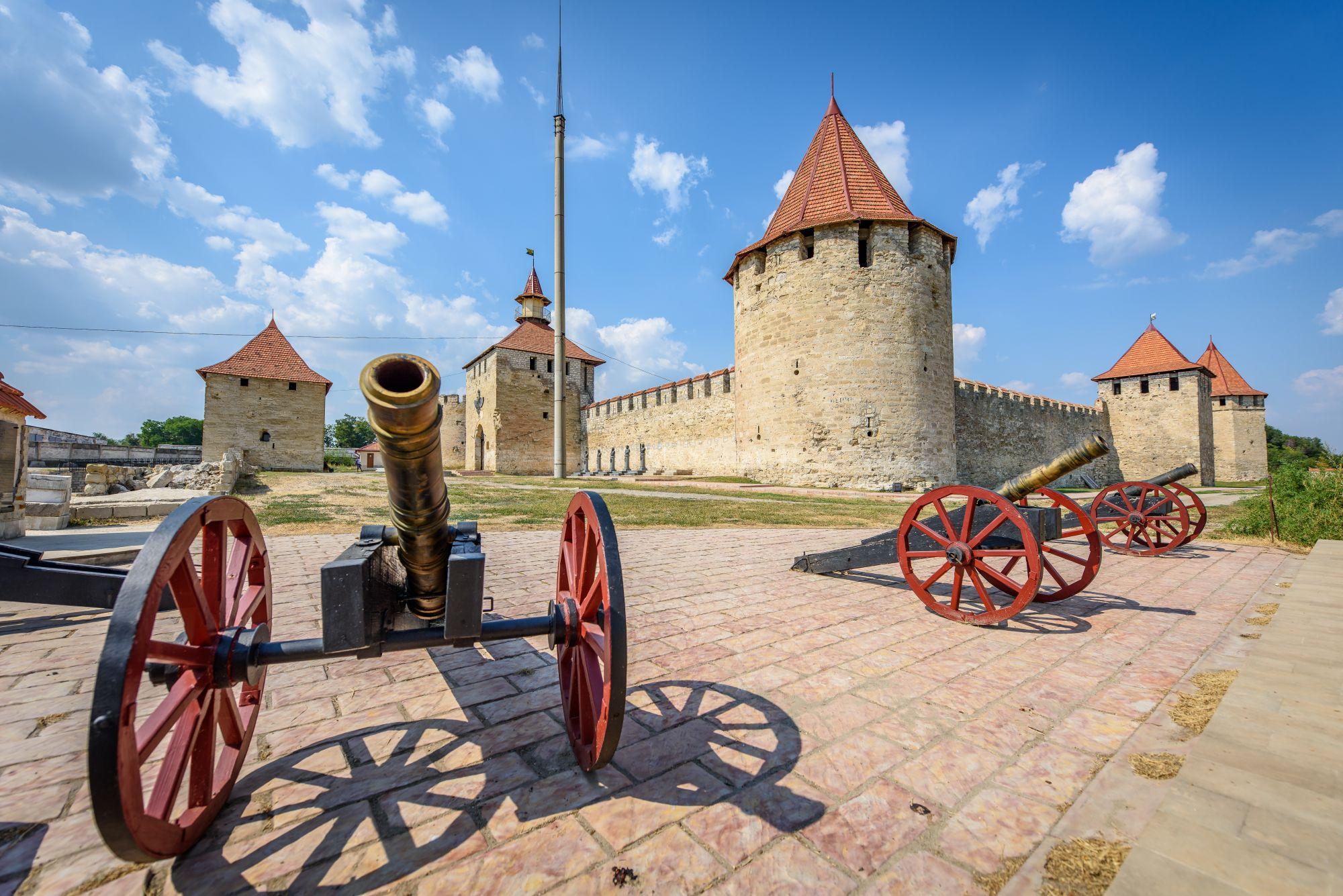 Twierdza w Naddniestrzu