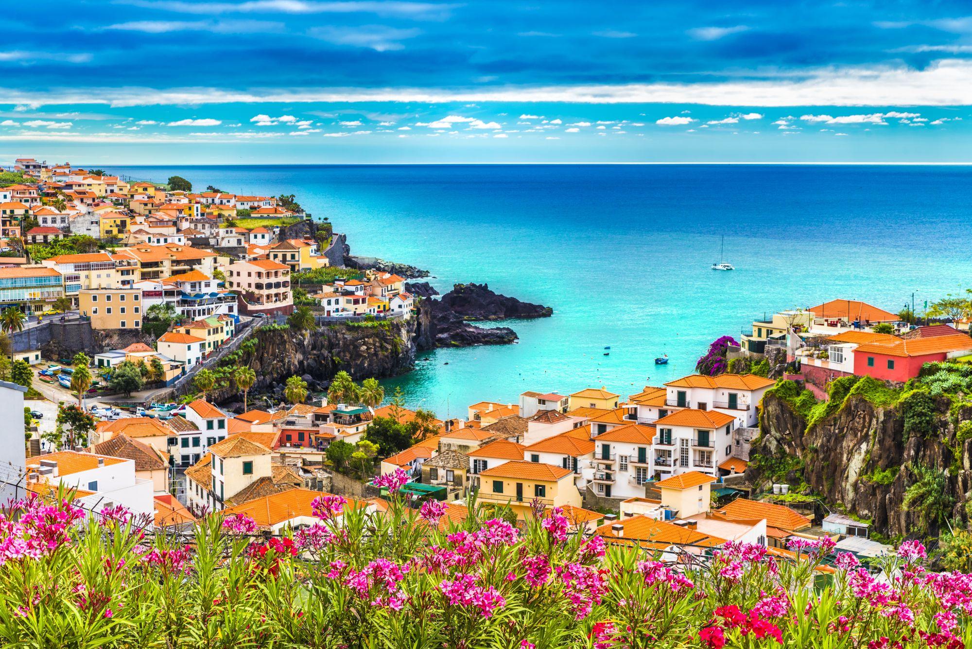 Madera widok wybrzeża