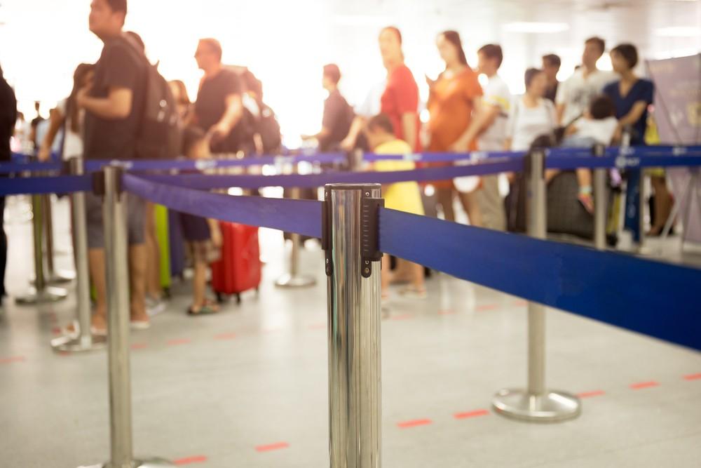 Kolejka na lotnisku