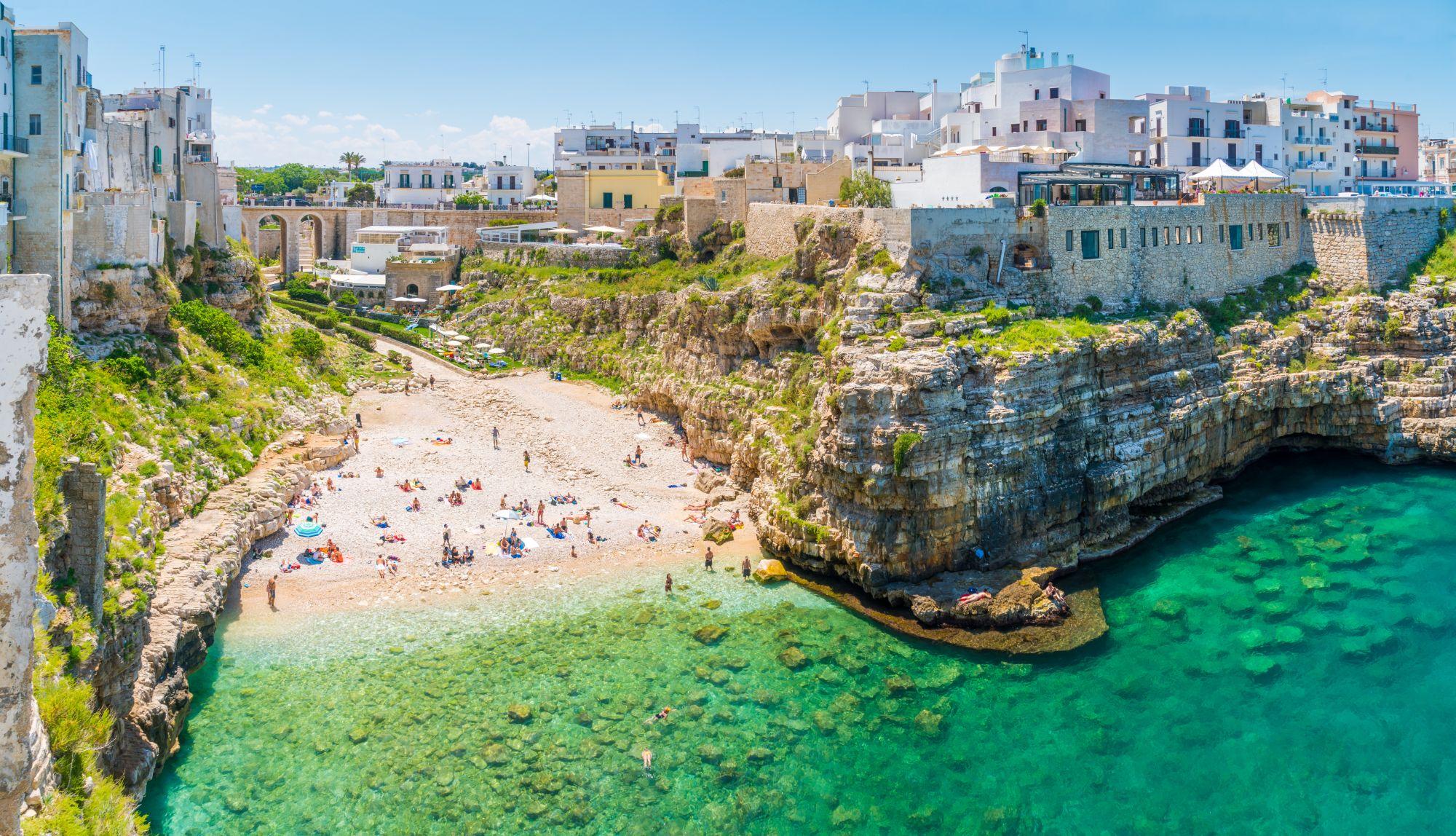 Plaża w Apulii