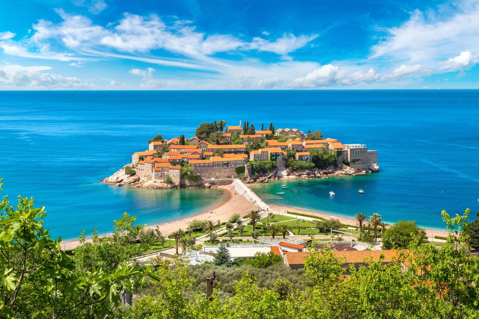 Morze w Czarnogórze