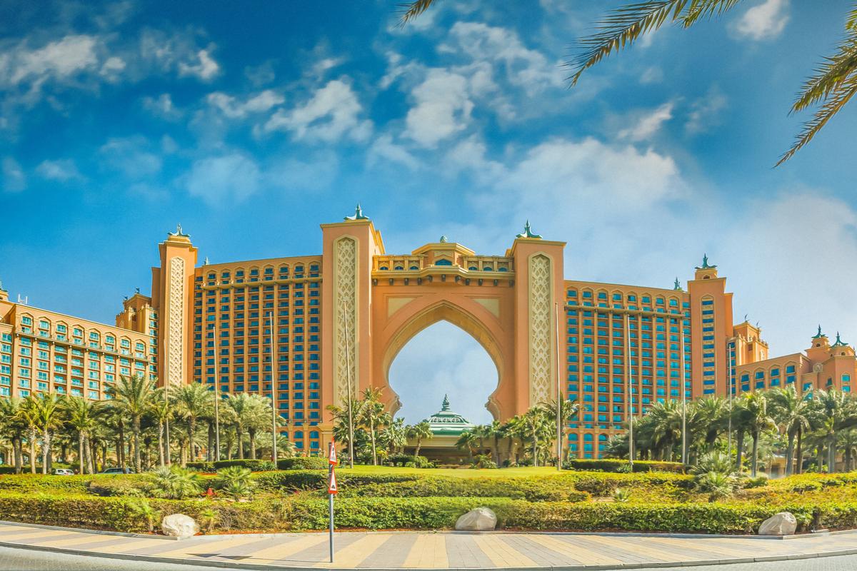 Dubaj atlantis hotel