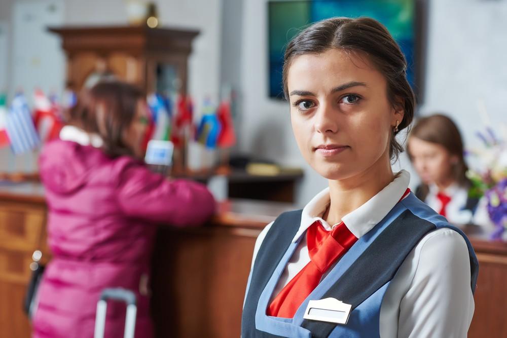 Concierge w hotelu