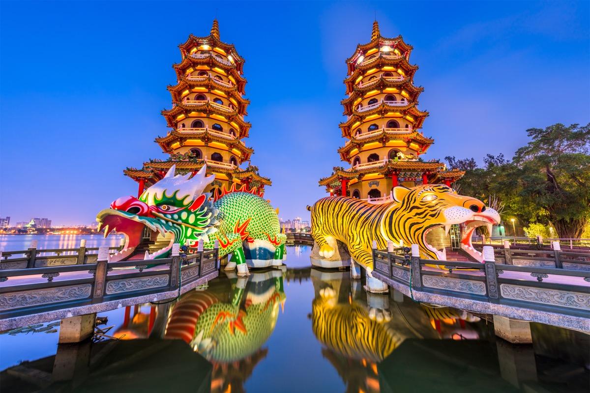 kaohsiung widok na miasto