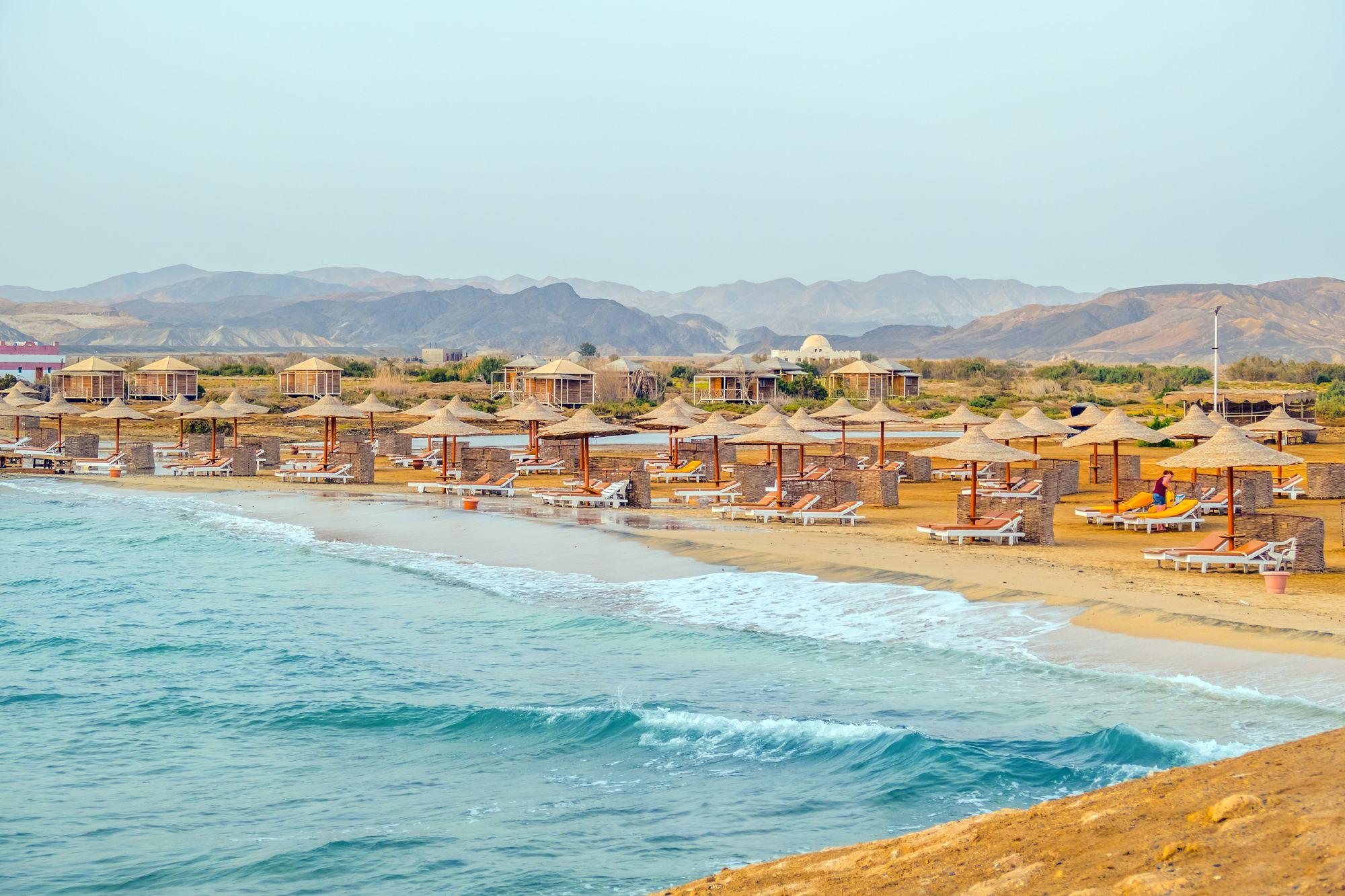 Marsa Alam plaża