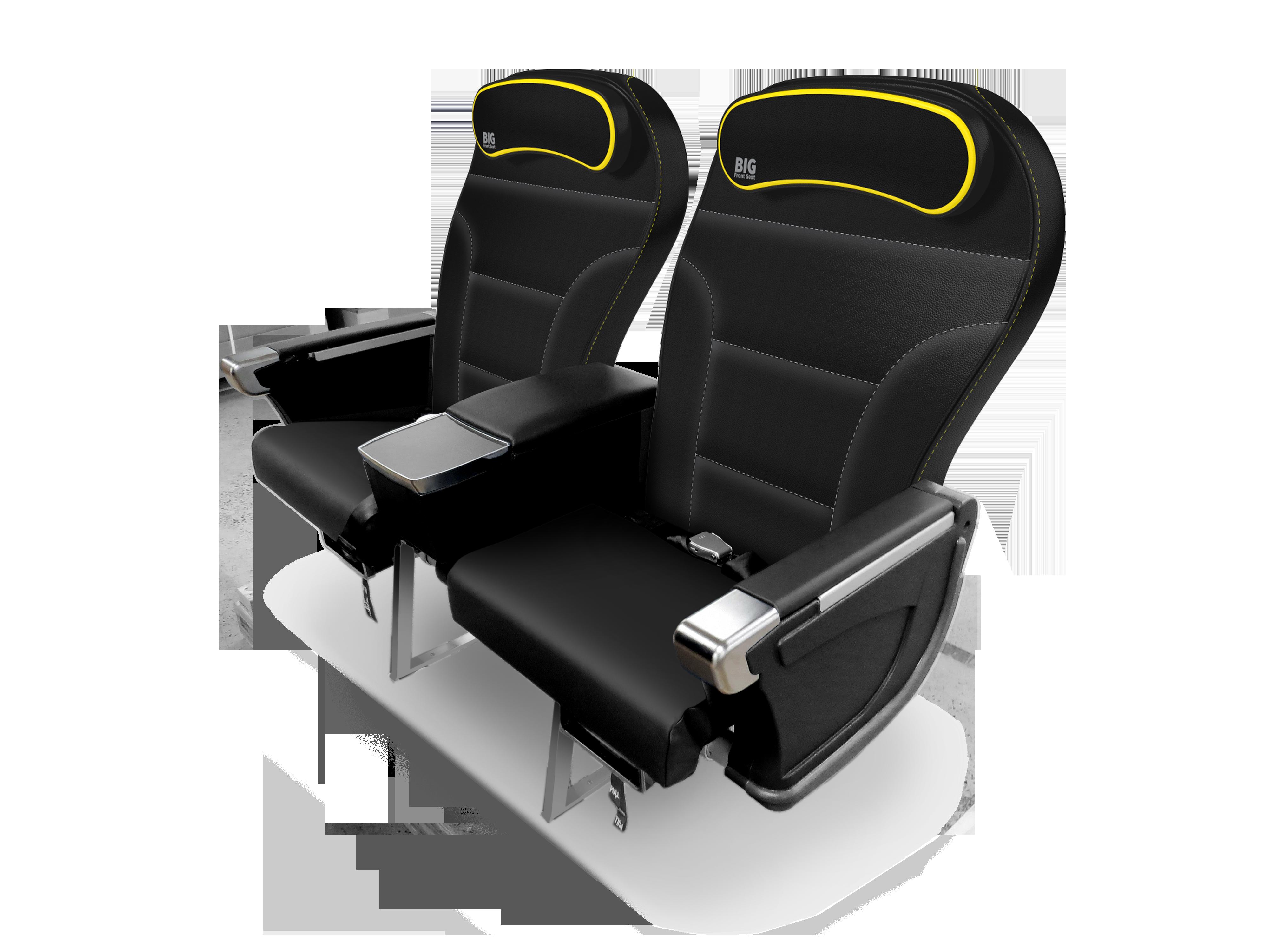 spirit airlines siedzenia