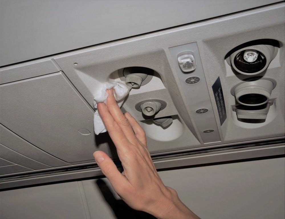 Czyszczenie samolotu