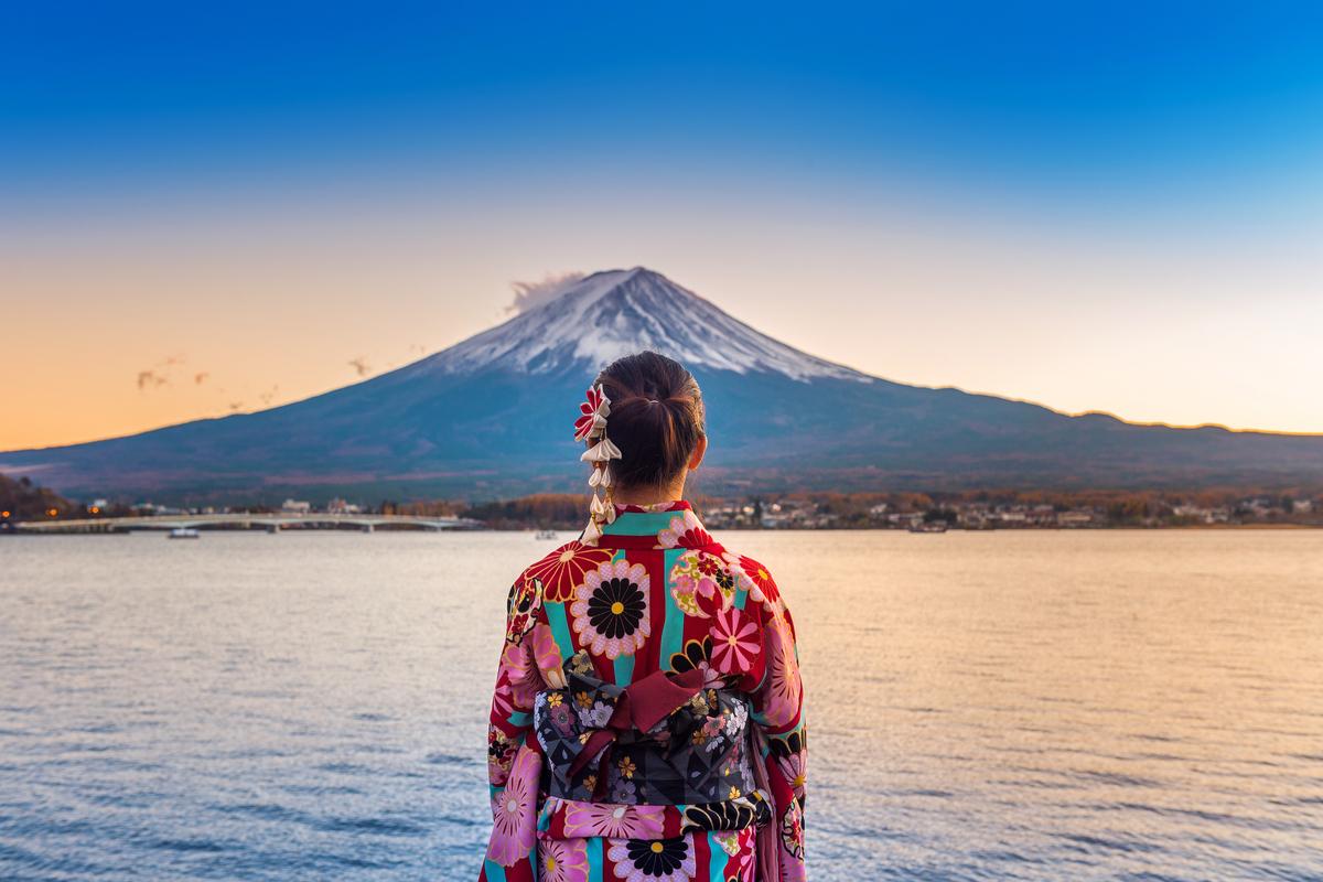 kobieta w Tokio