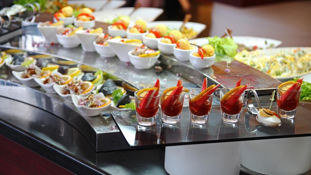 Jedzenie w hotelu