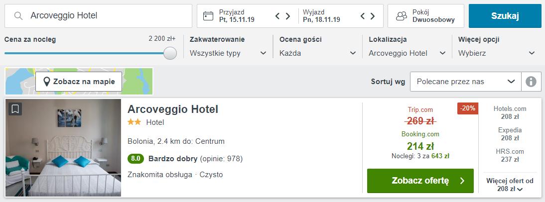 Bolonia hotel