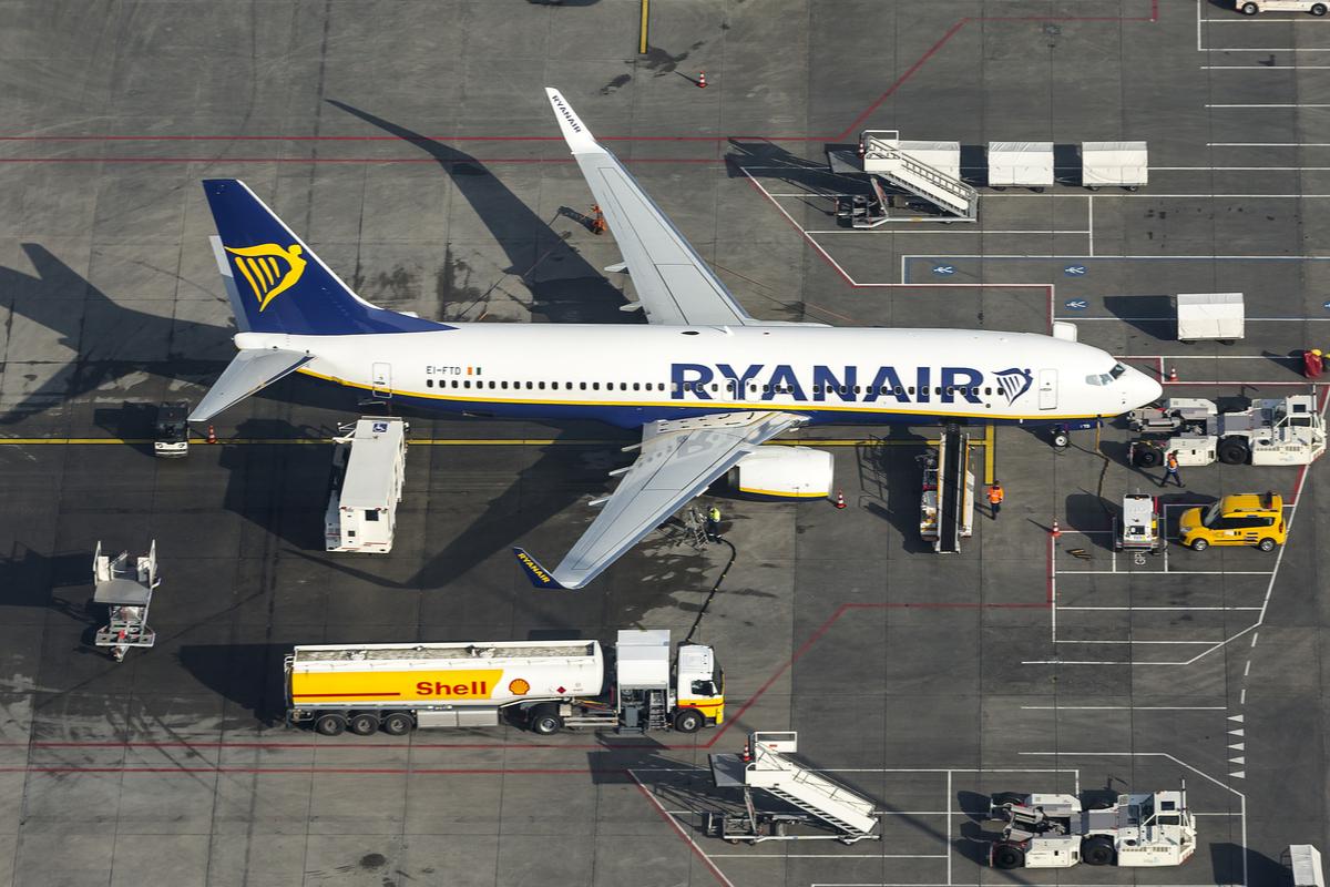 ryanair samolot