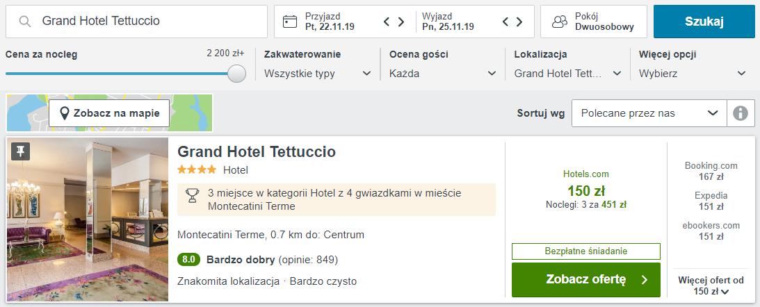 Toskania hotel