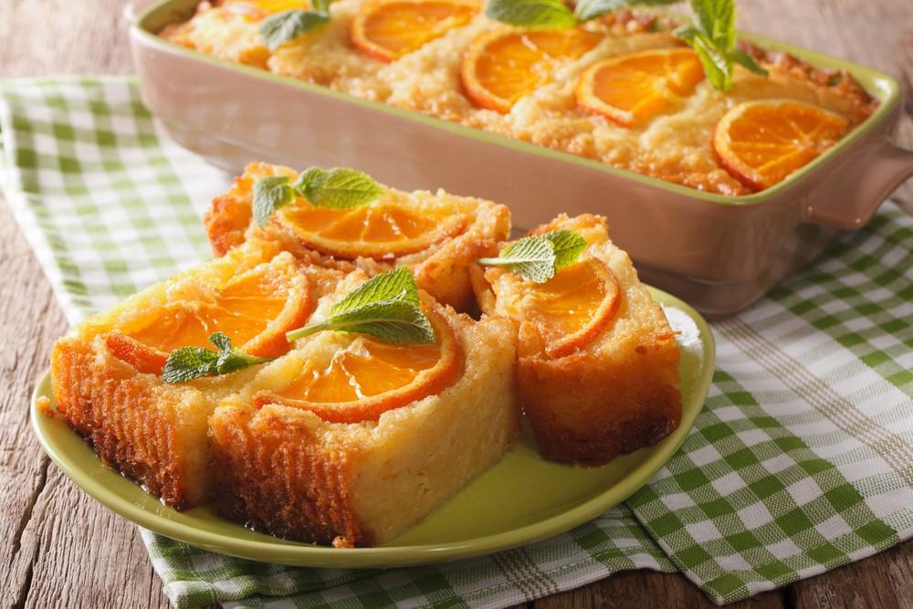 Grecja ciasto pomarańczowe